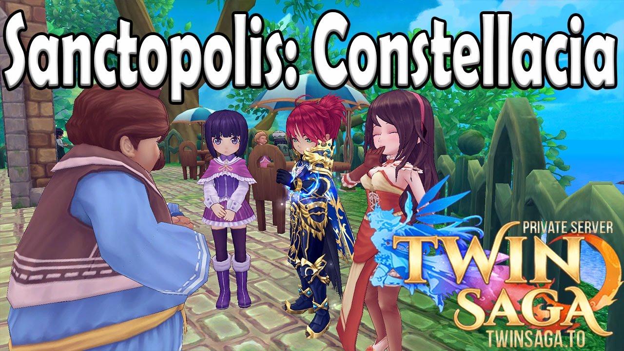 All Conversations Locations: Sanctopolis: Constellacia | Twin Saga PS