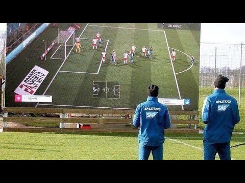 High tech Clup Hoffenheim FC -  useing innovative technology to gain an edge over opponents