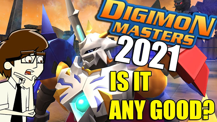 How's Digimon Masters in 2021? - First impressions