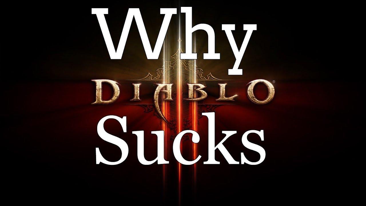 Why Diablo III Sucks