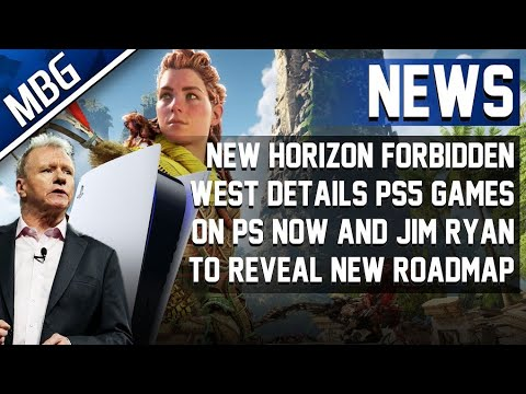 New Horizon Forbidden West Details, Jim Ryan To Reveal Future Of PlayStation, PS5 Games On PS Now
